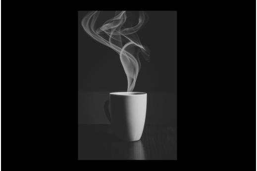 Картина  Горячий кофе